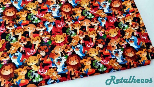 Retalhos Disney 100% algodão