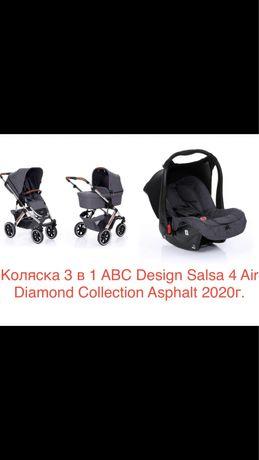 Коляска 2 в 1 ABC Design Salsa 4 Air Diamond и автокресло