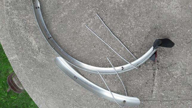 błotniki rowerowe nad koła 24 cale
