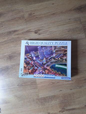 Nowe Puzzle 2000 elementów High Quality Clementoni
