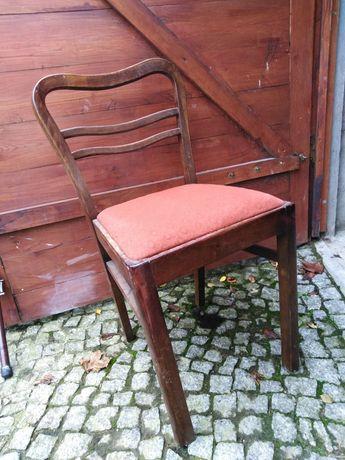 Krzesło PRL drewniane