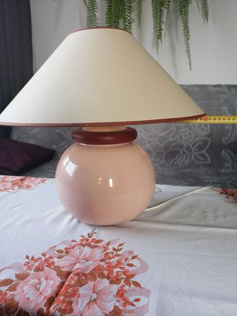 Lamka lampa stołowa duża
