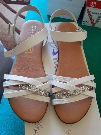 Sandały skorzane Maciejka