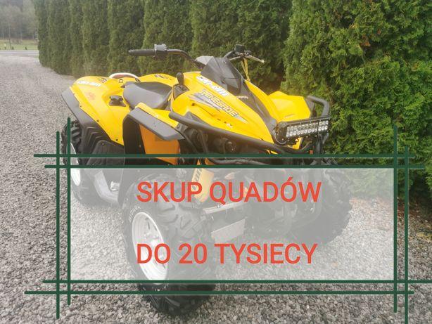 Skup Quadow Quad atv can am Polaris cf moto kawasaki yamaha suzuki ltz