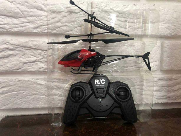 Подарочный вертолет на радиоуправлении с пультом для детей