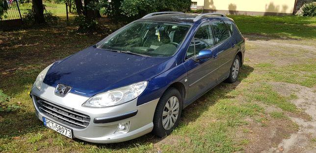 Sprzedam/zamienię Peugeot 407SW 2005r 2.0 HDi