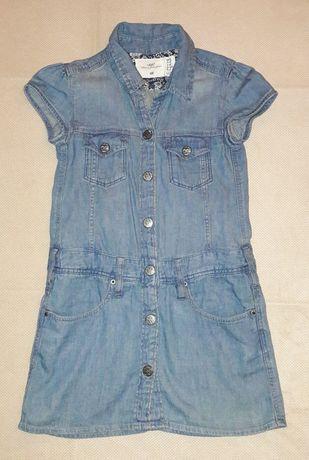 Sukienka jeans h&m rozmiar 110