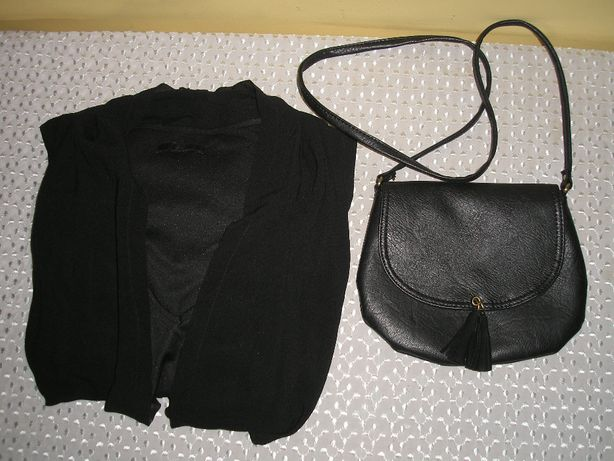 Sukienka 2w1 H&M 42-44, torebka