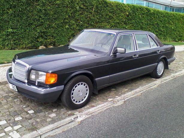 Mercedes 300SEL, limusine versão USA, poucos kms., veículo de coleção.