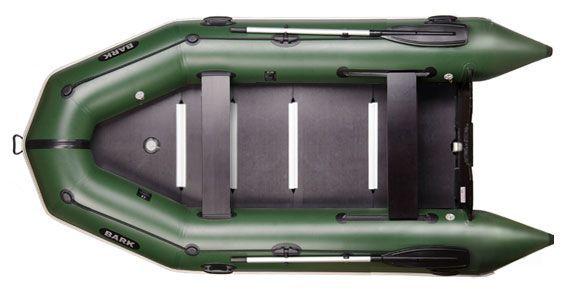 Лодка новая надувная, моторная Bark BT-360S, човен надувний.