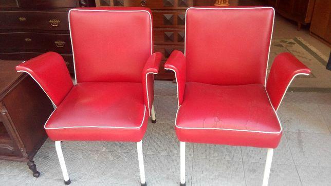Cadeiras Vintage barbeiro