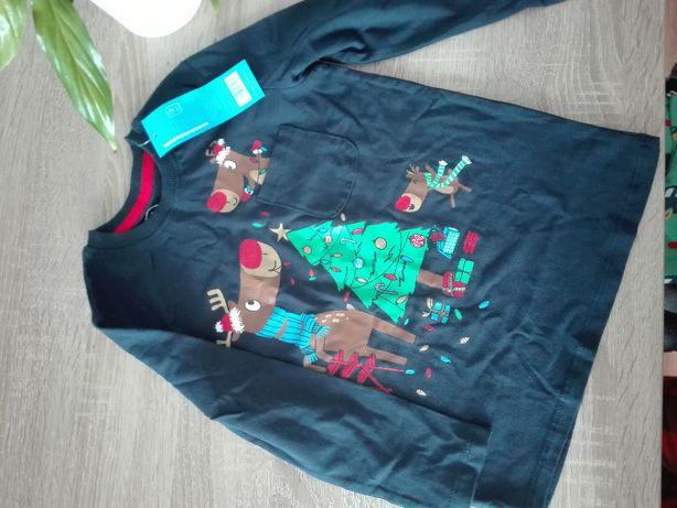 bluzeczka świąteczna nowa rozm. 110