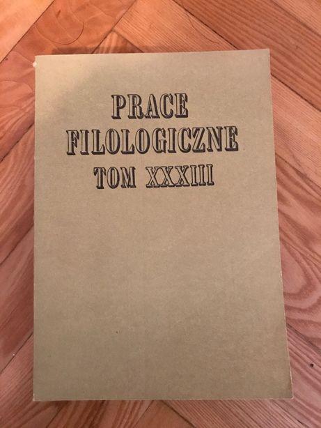 Prace filologiczne - 7 tomów