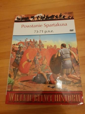 Powstanie Spartakusa OSPREY DVD HISTORIA