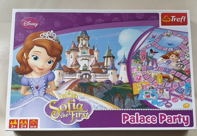 Gra planszowa - Jej wysokość Zosia - Przyjęcie w pałacu, wiek 3+