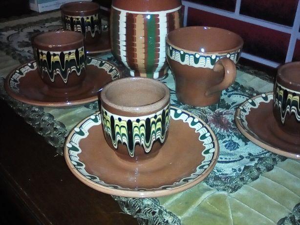 Ceramika bułgarska zestaw z lat 70-tych