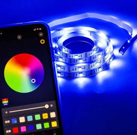 Taśma LED Bluetooth USB 5 metrów RGB5050