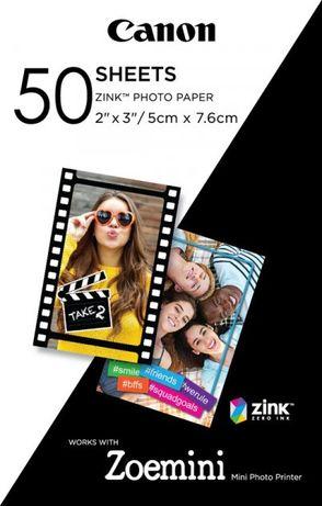 Фотобумага Canon Zink для Zoemini 50 листов
