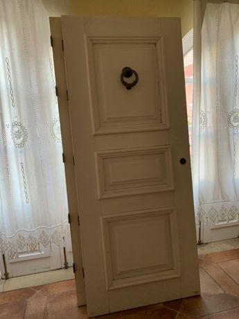 Portas exteriores sucupira maciça