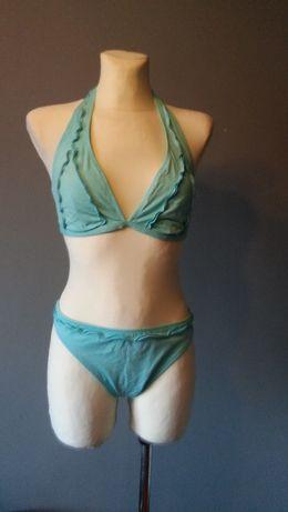 Turkusowy strój kąpielowy rozmiar 42
