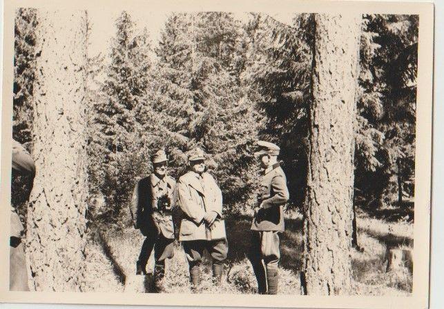 Strzelcy górscy Wehrmacht dwa zdjęcia
