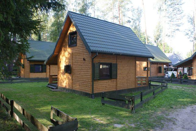 Domek drewniany GŁĘBOKIE