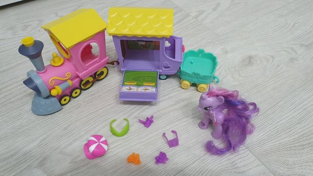 My Little Pony POCIĄG PRZYJAŹNI Twilight Hasbro