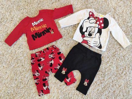 Фирменные костюмы на девочку 6-9 месяцев