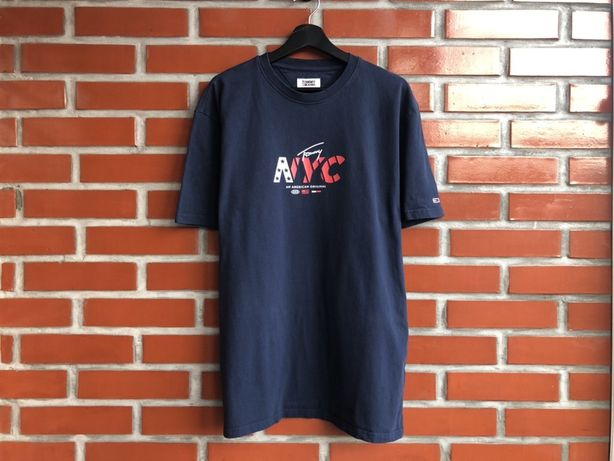 Tommy Hilfiger мужская футболка размер XXL Томми Хилфигер Б У