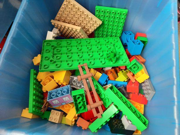 Lego duplo zwierzęta, klocki i inne