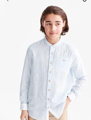 Рубашка в школу, рубашка для мальчика, школьная форма