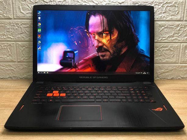 Игровой  ноутбук Asus ROG ::GTX 1060 6GB, CORE i7, IPS LG, 16 DDR4