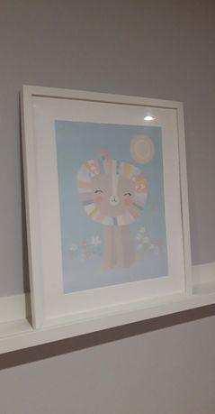 Obrazek Grafika Pudrowy pokój dziecka