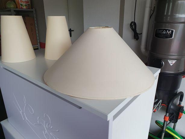 Abażury do lamp wiszącej oraz stojących lub kinkietów