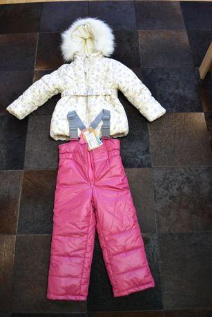 Зимовий костюм для дівчинки 98 ріст НОВИЙ!!!