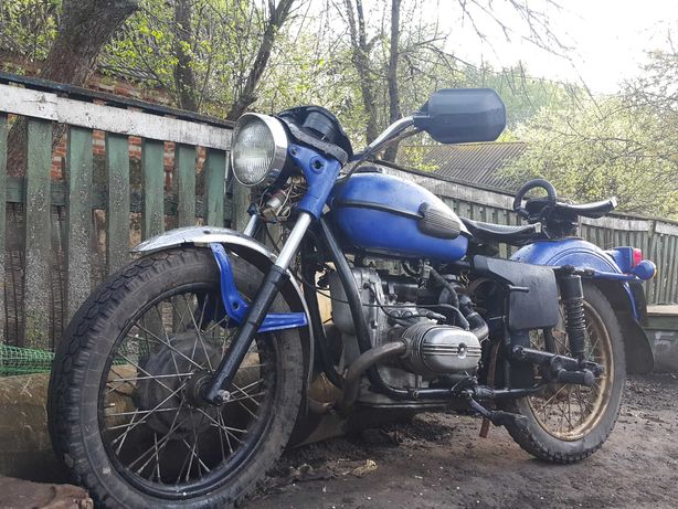 Мотоцикл Урал с документами на ходу