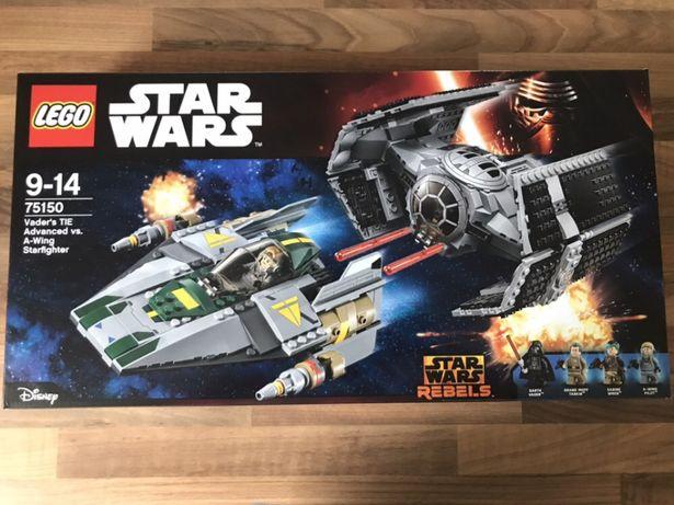 Lego Star Wars 75150 Myśliwiec TIE i A- Wing