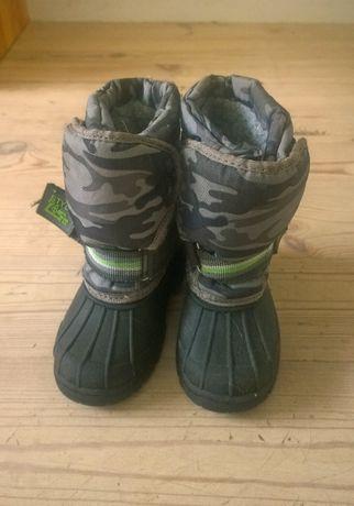 Buty zimowe śniegowce moro NEXT 24