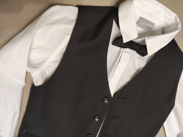 Рубашка и жилет школьные Next 128 см