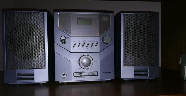 Aparelhagem Digital áudio rádio e CD.