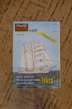 "Mały modelarz 4-5/97 Okręt ""ISKRA"""