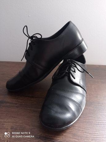Buty komunijne czarne roz. 30