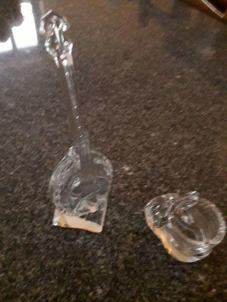 2 peças cristal