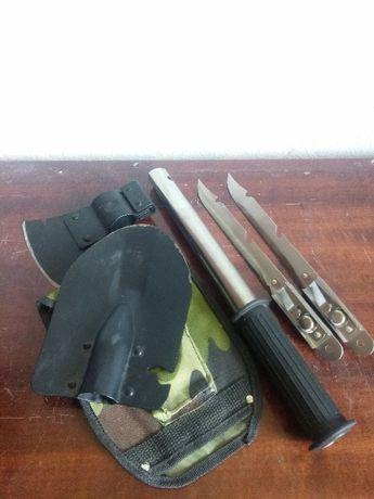Набор в чехле 3в1 лопата, топор, нож