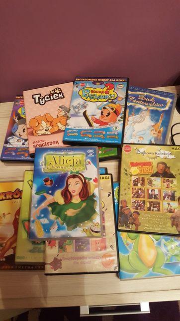 Sprzedam bajki dla dzieci DVD