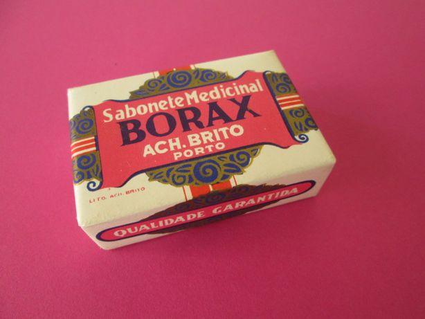 Raro Sabonete Medicinal Ach Brito Borax Antigo