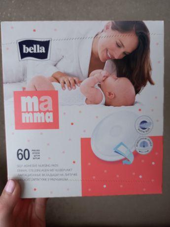 Лактаційні прокладки, вкладки, вкладиші белла bella 60 штук