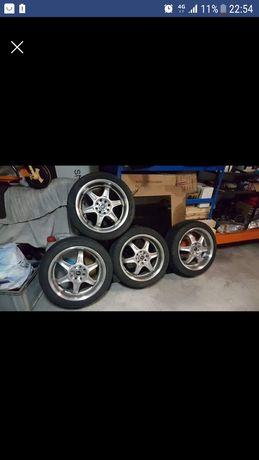 Jantes kosei 16 com pneus