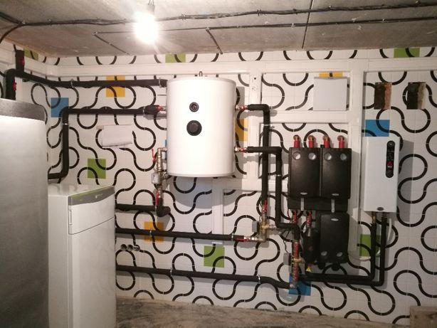 Отопление, вентиляция, канализация.