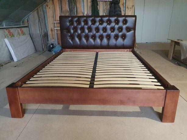 Ліжко деревяне двохспальне
